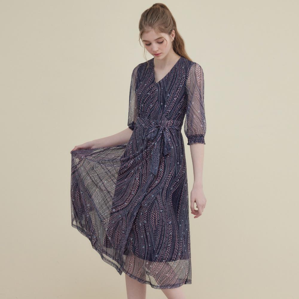 【追加到貨】niceioi氣質民族風花草印花洋裝