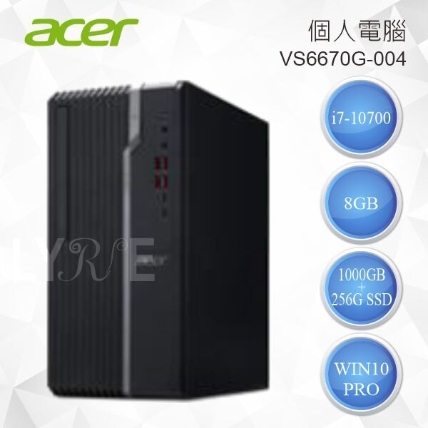 ACER 宏碁 VS6670G-004 個人電腦