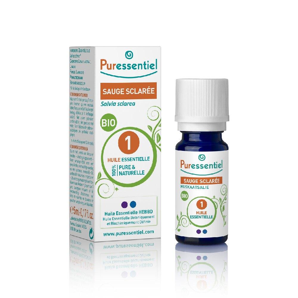 Puressentiel 璞萃 有機認證 快樂鼠尾草精油 5ml (Ecocert有機認證, AB有機農業認證, HEBBD)