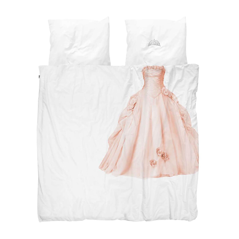 SNURK葡萄牙有機棉寢具 粉紅公主-雙人雙人加大