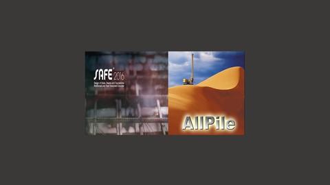 Csi Safe + AllPile foundation, slabs, beams and deflection