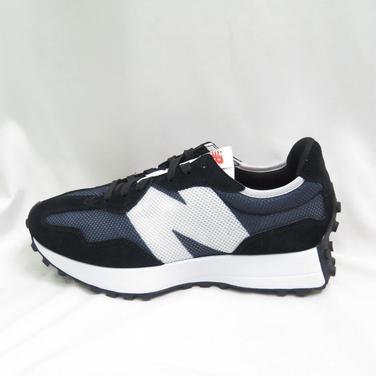 New Balance 復古運動鞋 休閒鞋 男款 MS327BC 黑【iSport愛運動】
