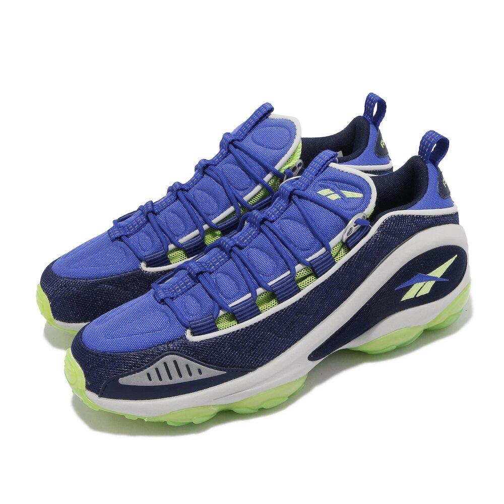 REEBOK 休閒鞋 DMX Run 10 MU 運動 男鞋 輕量 舒適 避震 球鞋 穿搭 DMX大底 藍 灰 [DV3813]