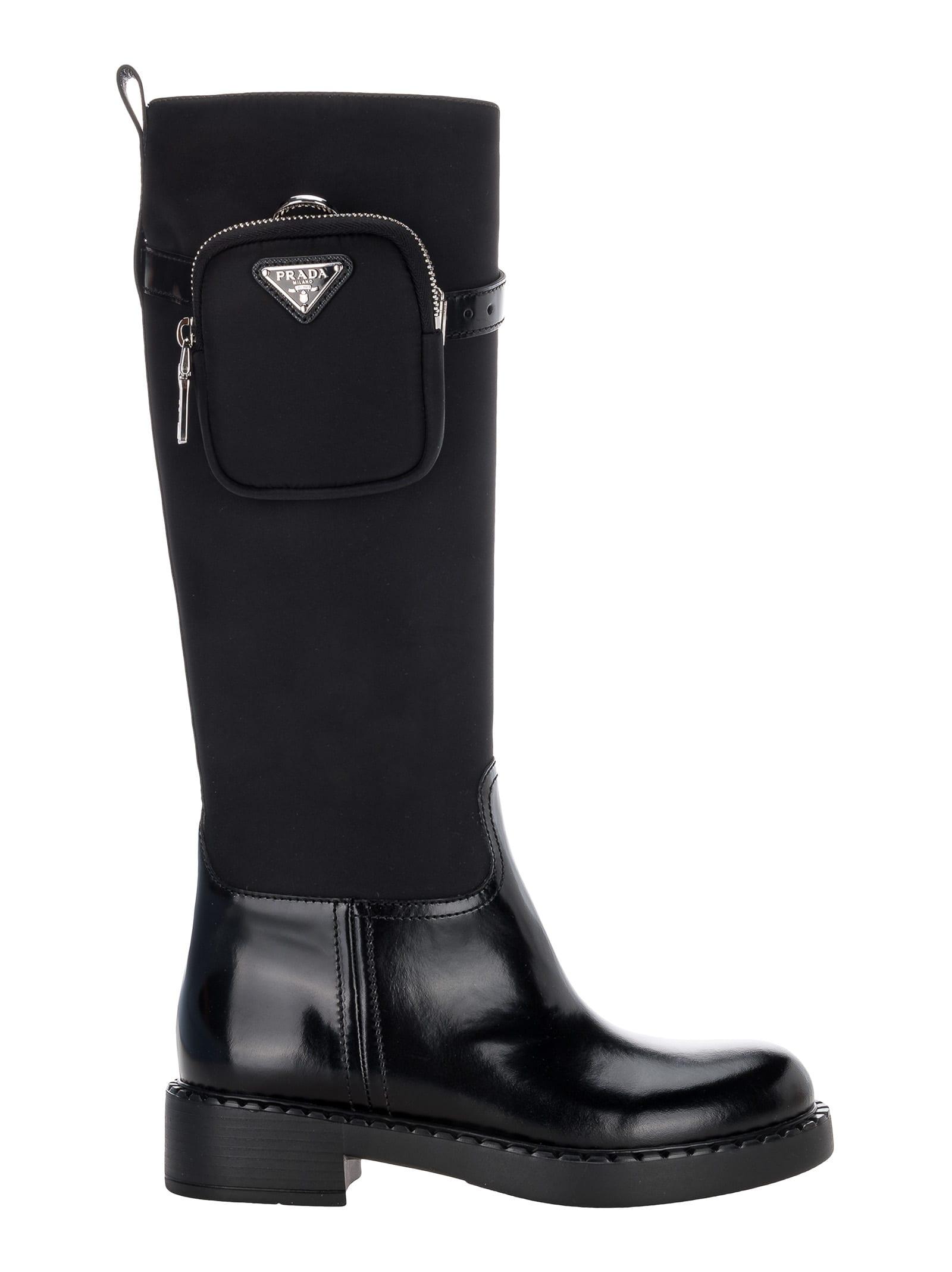 Prada Re-nylon High Boots