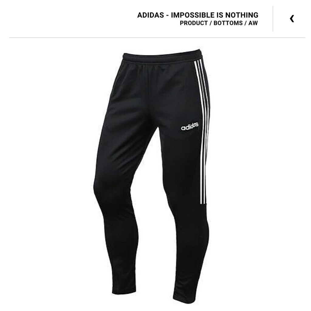 Adidas 愛迪達 休閒長褲 運動長褲 運動褲 長褲 DY3133 黑色 全新正品 快速出貨 統一發票