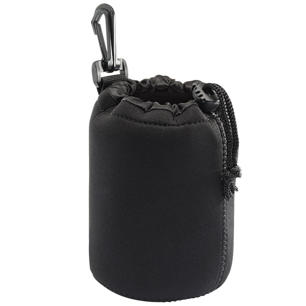 Kamera 潛水料鏡頭袋-黑(M)