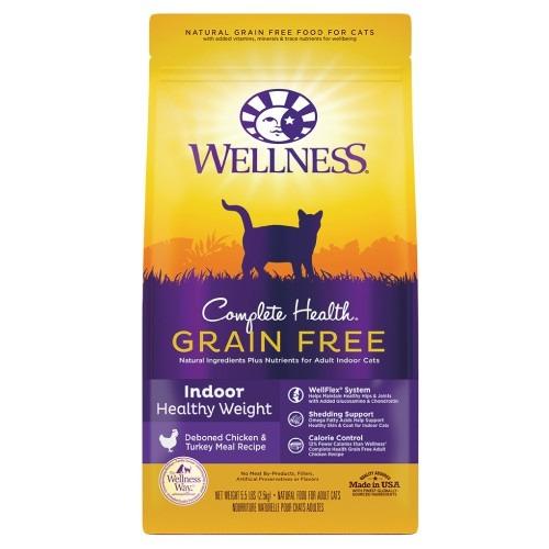 ☆國際貓家☆WELLNESS 寵物健康 全方位無穀系列室內貓體重控制食譜