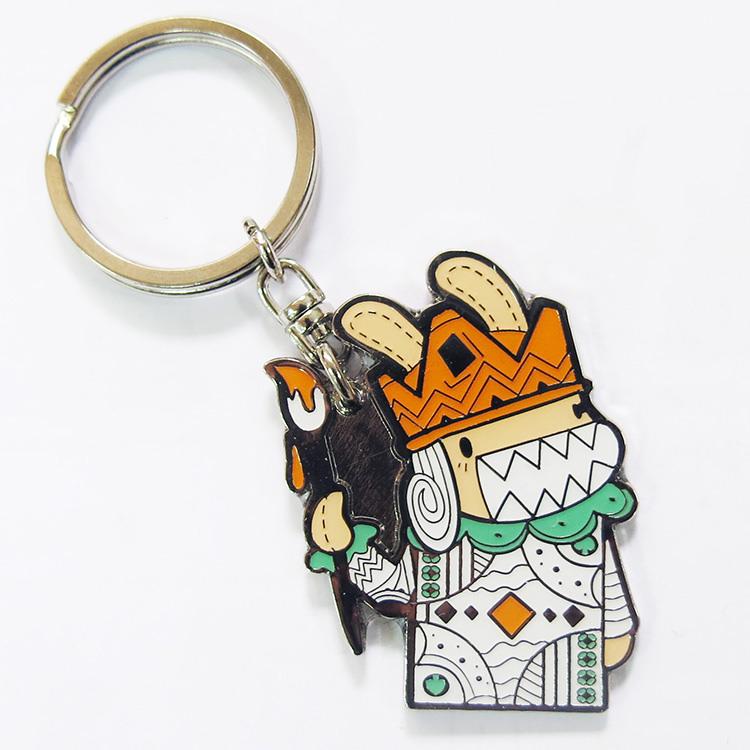 《Foufou》插畫系列鑰匙圈 - Poker King