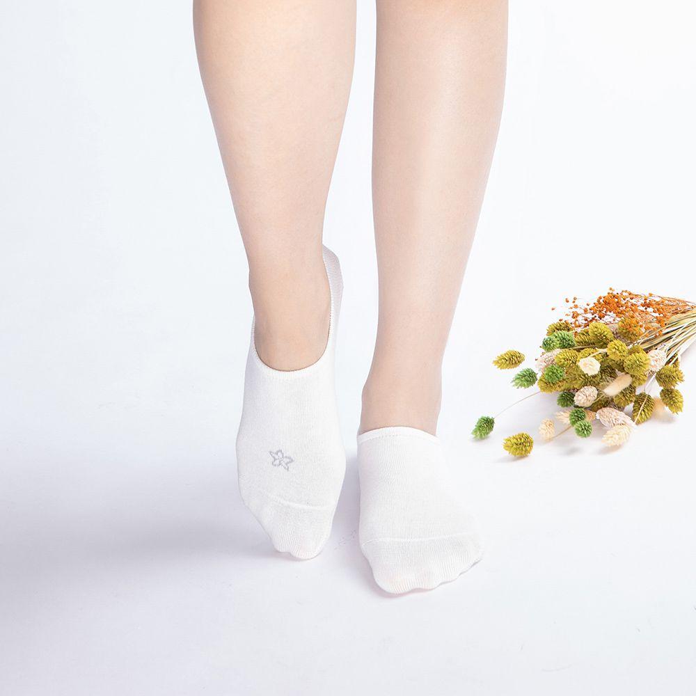 萬葉集-逗留襪-卯花(船型襪)