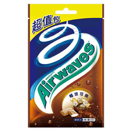 AIRWAVES 無糖口香糖-暢涼可樂62g