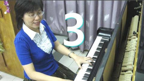 3 Play PIano Trick: Rosa's Octave Rhythmic Dramatic Drum