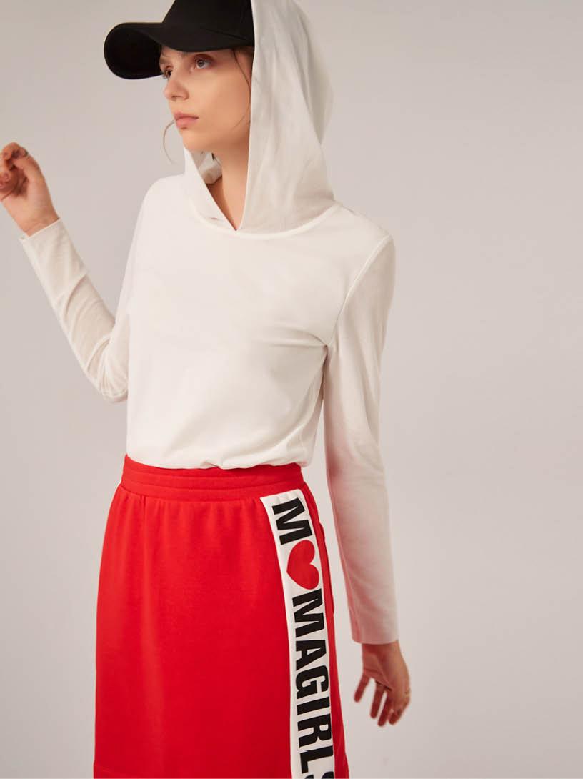 MOMA(02S006)MOMA女孩休閒短裙