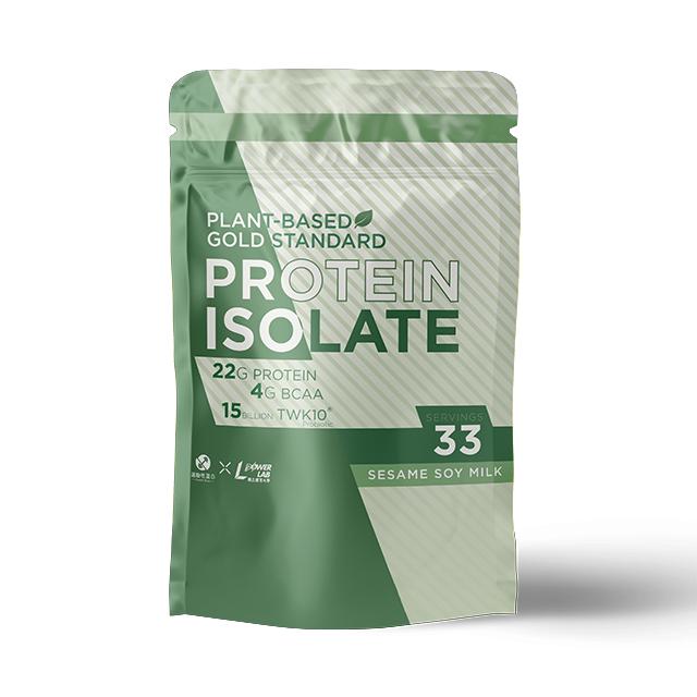 【體大ISP】 POWERLAB-運動益生菌植物分離高蛋白-芝麻豆乳