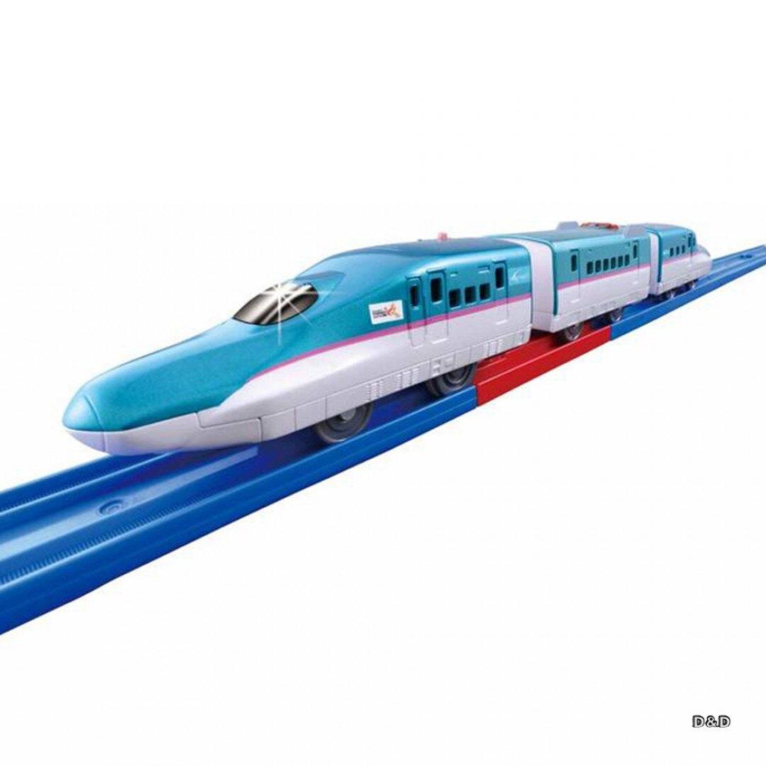 《TAKARA TOMY》PLARAIL鐵道王國  S-16 自動變速火車 E5新幹線 東喬精品百貨