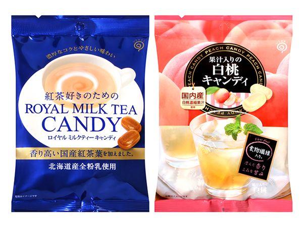 鈴木榮光堂~日東 皇家奶茶風味/白桃風味 糖果(70g) 款式可選【DS001869】
