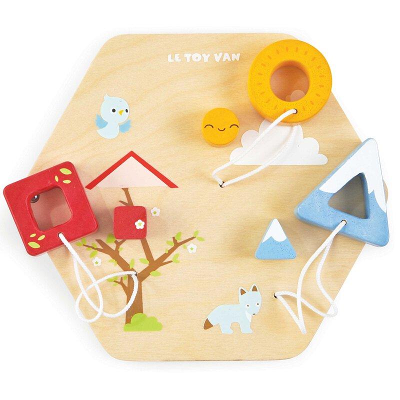 【Le Toy Van】形狀猜猜瓦片啟蒙玩具