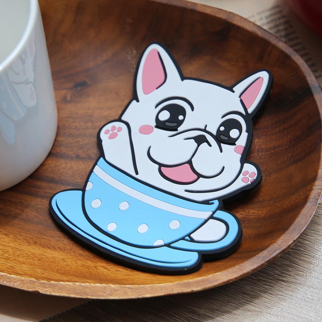 豆卡頻道_茶包下午茶軟膠杯墊