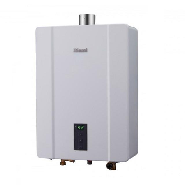 (林內)RUA-C1600WF屋內型數位恆溫強排熱水器-16L
