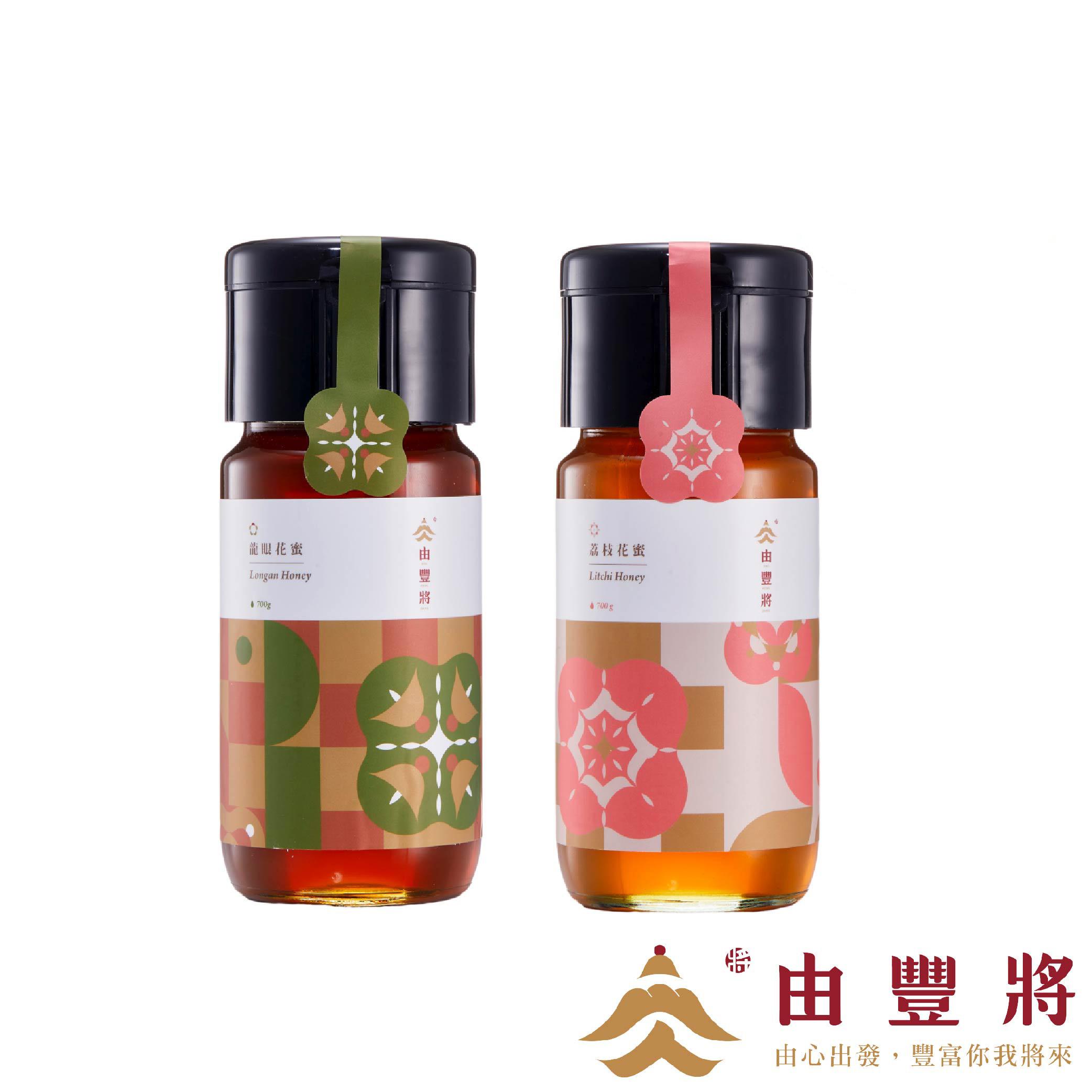 【由豐將】精選蜂蜜700g (龍眼蜂蜜/荔枝蜂蜜)