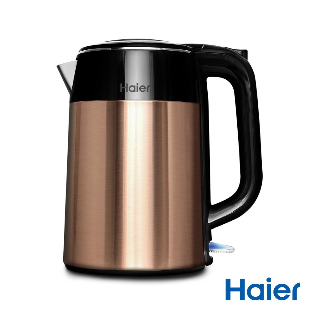Haier海爾 炫彩雙層防燙快煮壺-香檳金 HB-3251AG
