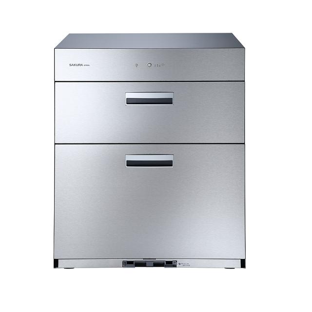 (櫻花)Q-7692落地式雙門/不鏽鋼按鍵烘碗機