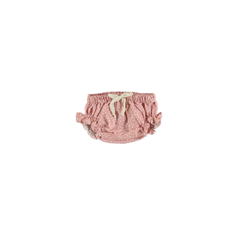 PETIT INDI 粉紅點點泡泡褲