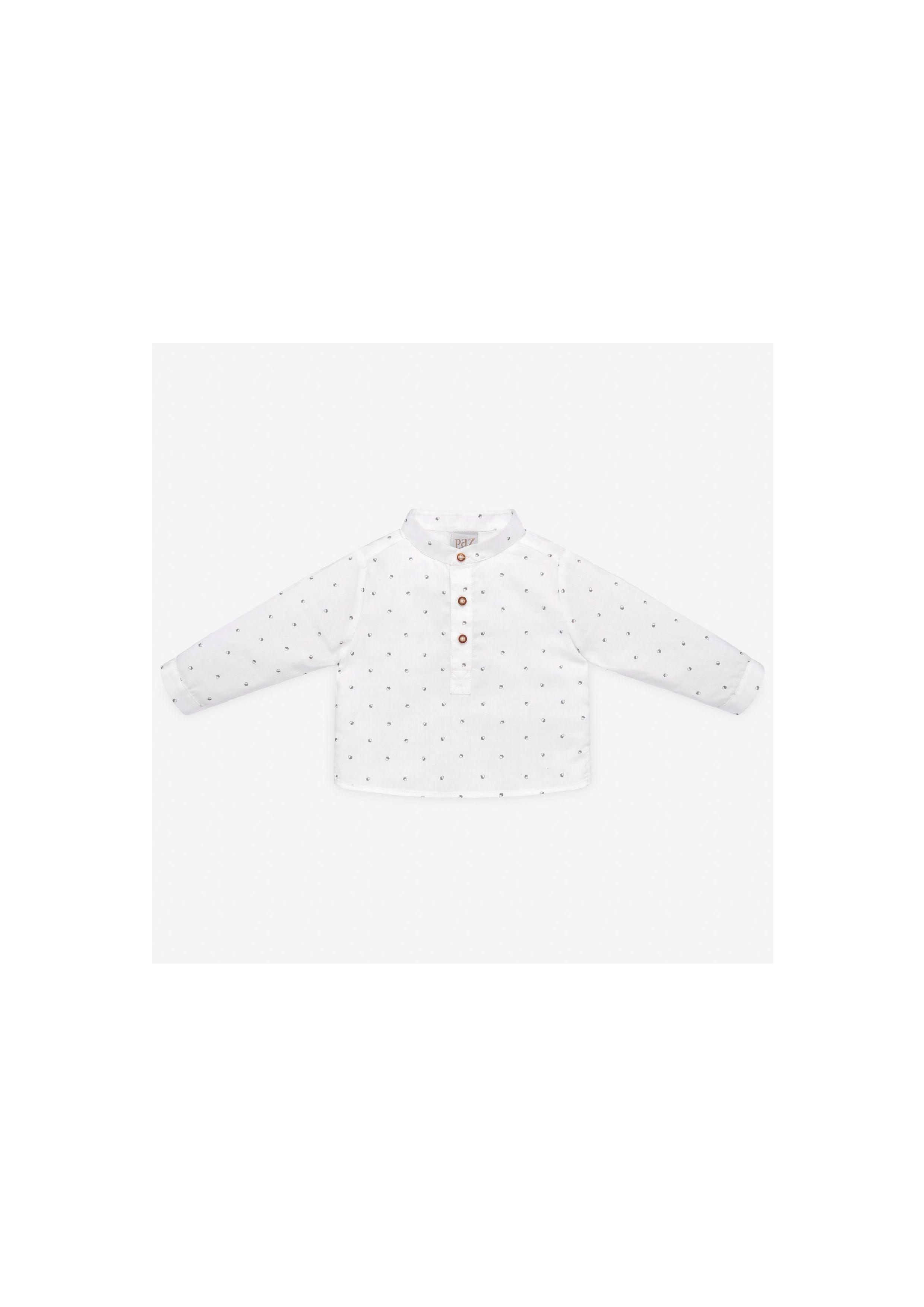 PAZ Rodríguez 西班牙精品童裝 / PRADERA 原野花園紳士牛津領襯衫