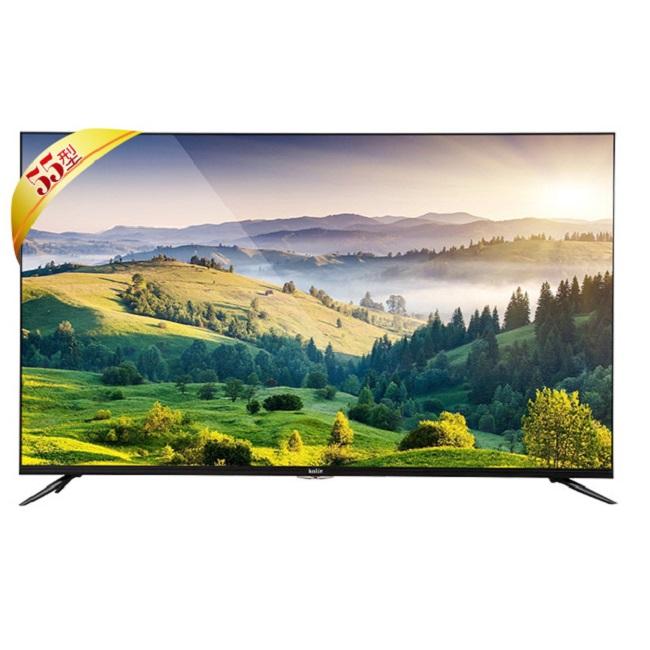 【Kolin 歌林】55型4K HDR聯網LED液晶顯示器+視訊盒(KLT-55EU06)