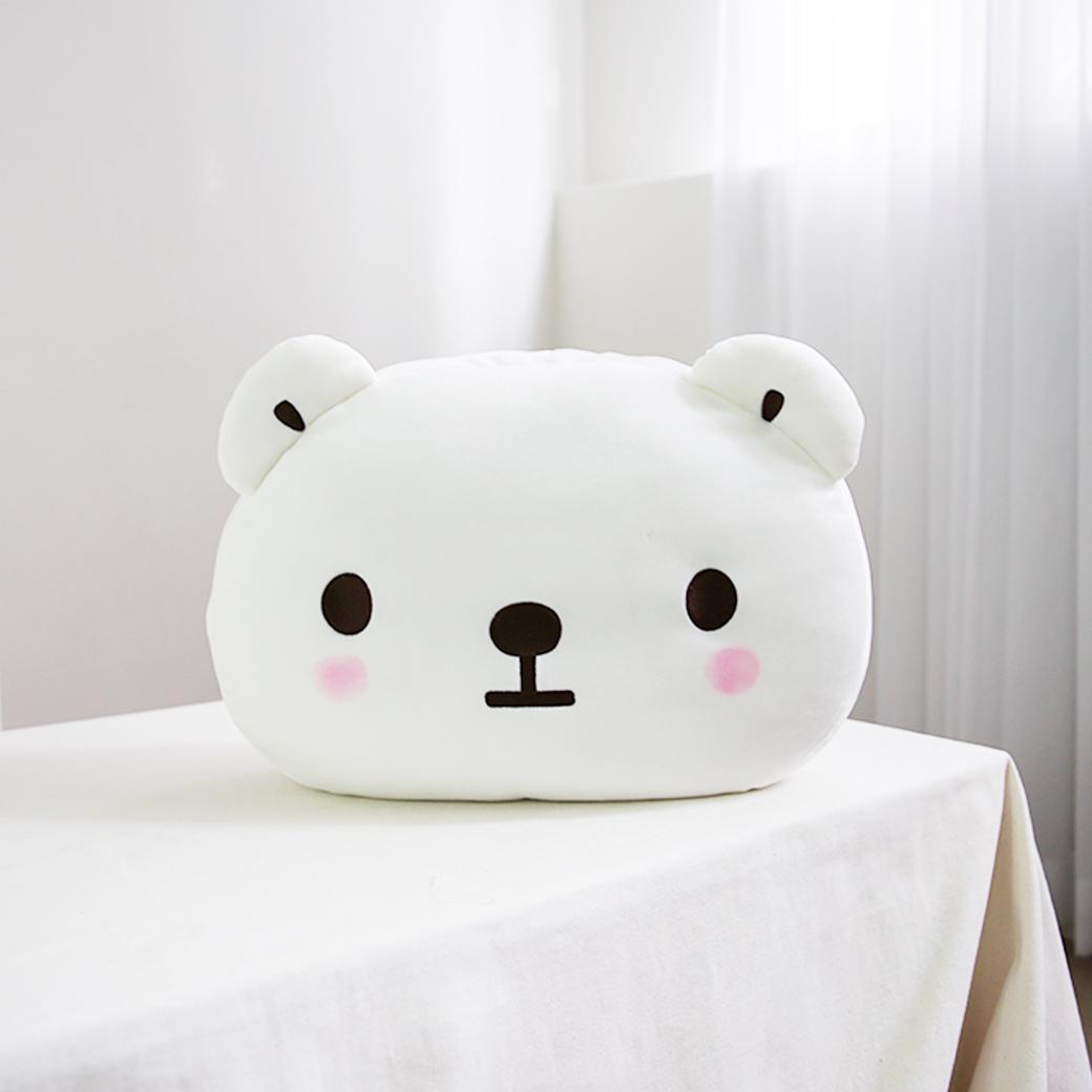 白白日記-大臉抱枕-很正常
