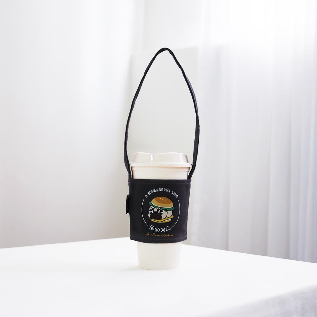 豆卡頻道_環保飲料杯套-漢堡