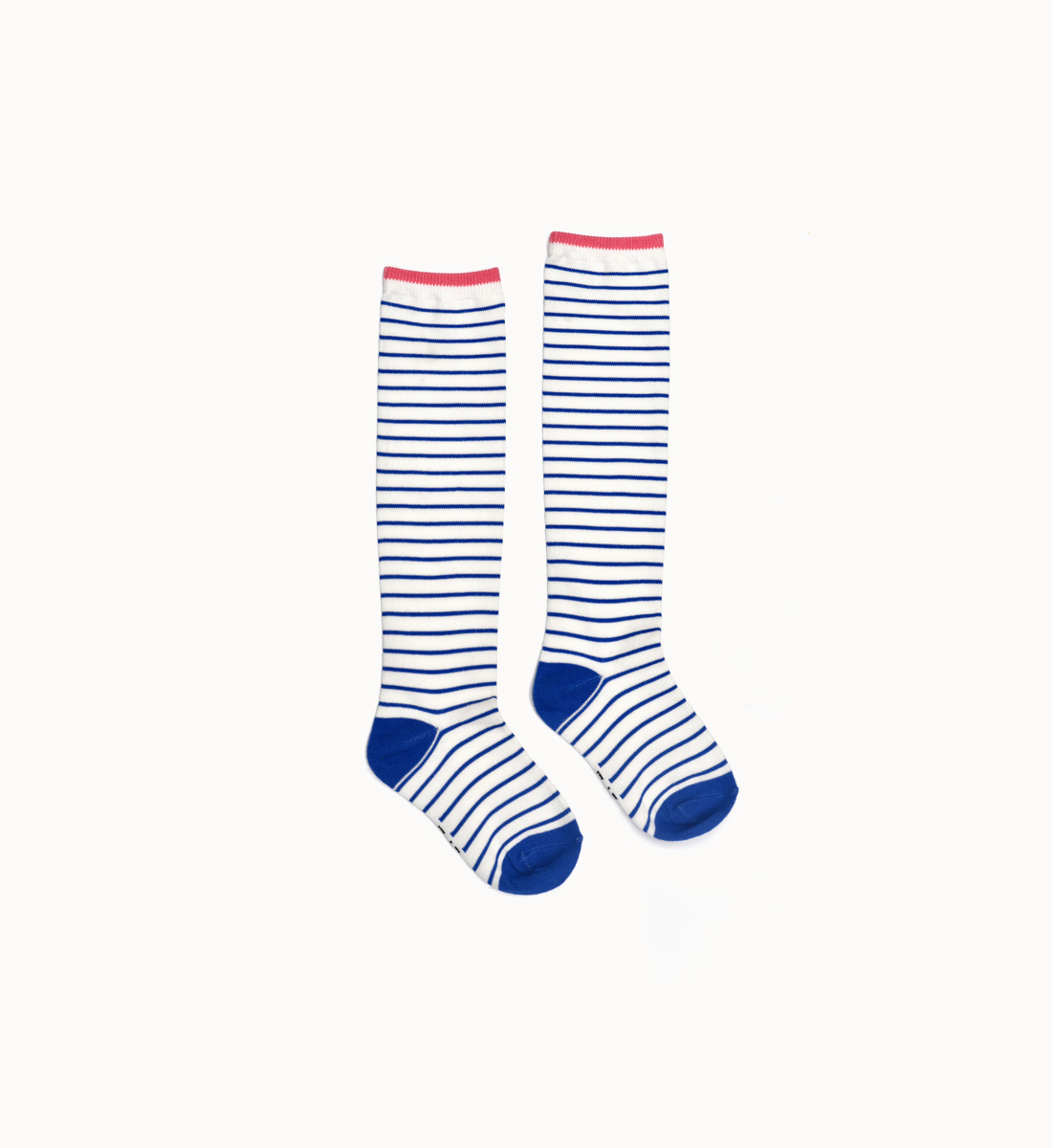 BOXBO 法國時尚雨靴 / 高筒襪-條紋