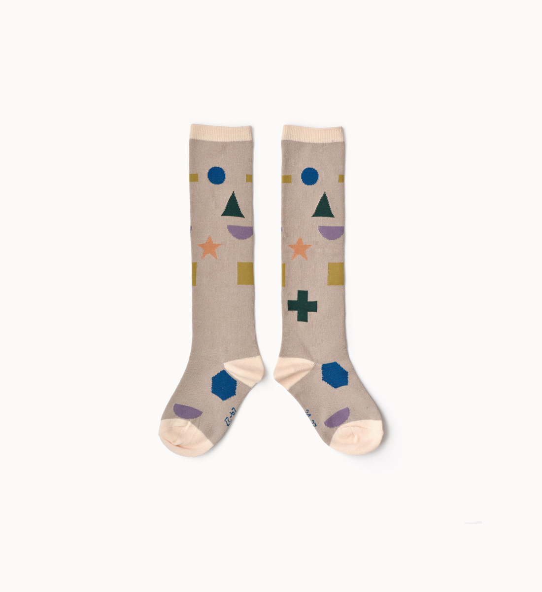 BOXBO 法國時尚雨靴 / 高筒襪-符號