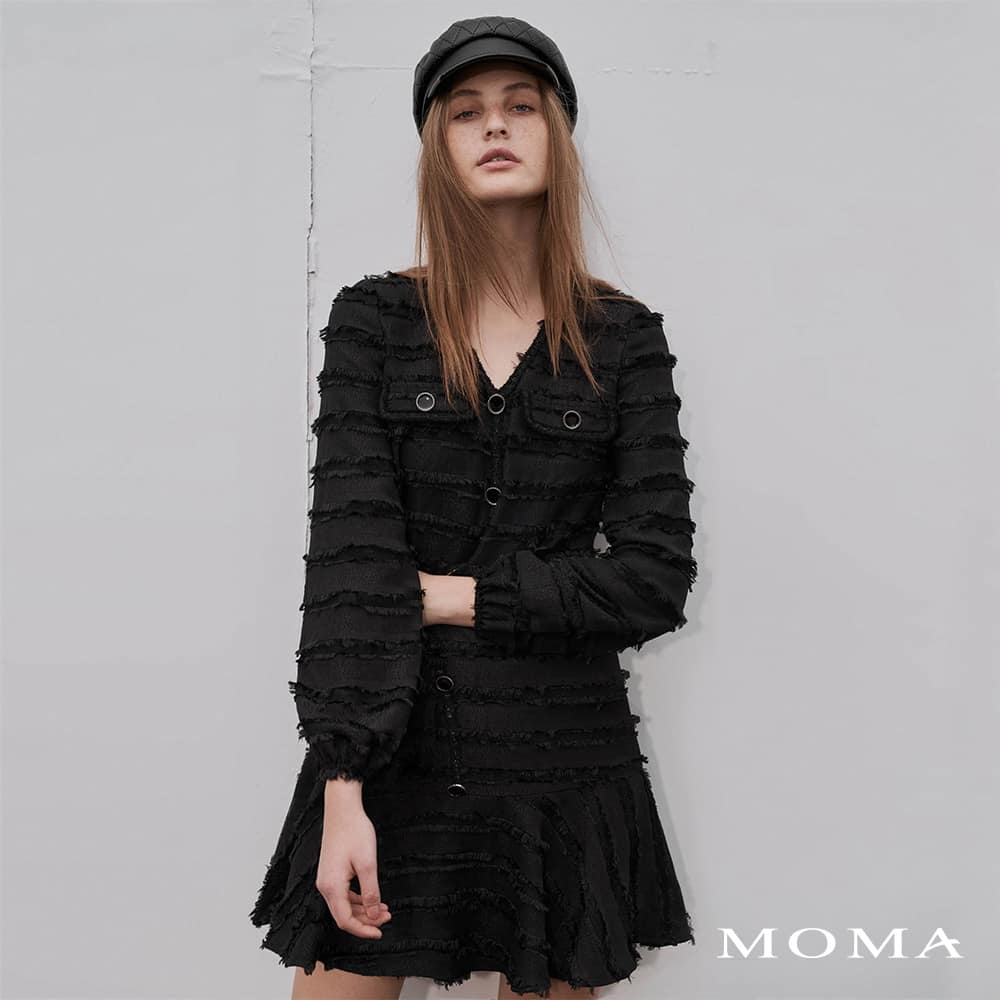 MOMA(02D061)法式都會洋裝