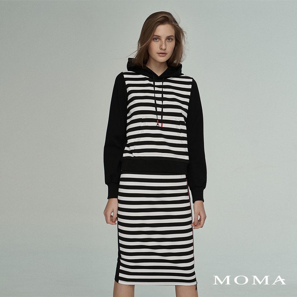 MOMA(02M074)連帽長袖上衣