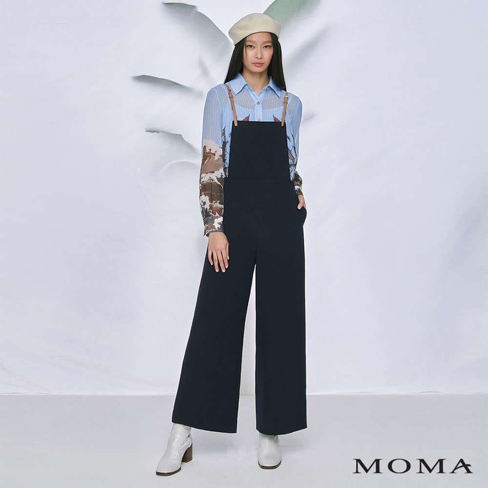 MOMA(02P107)個性質感吊帶褲-剩餘36號