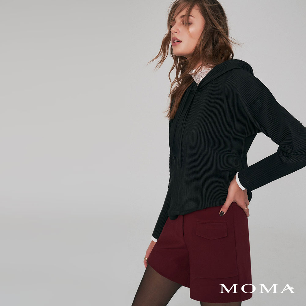 MOMA(02P100)單口袋挺版短褲