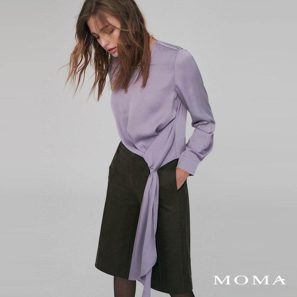 MOMA(02G078)單邊垂墜上衣