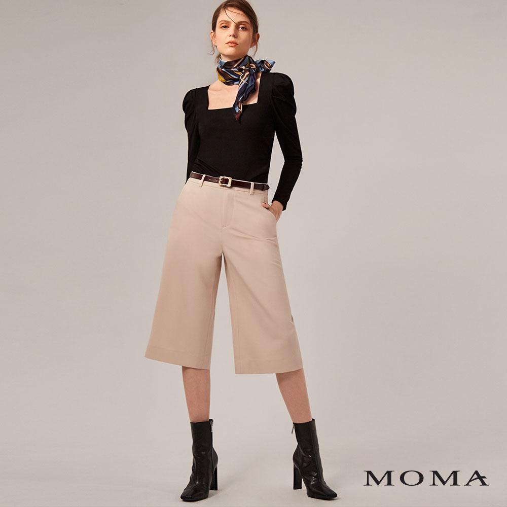 MOMA(02P075)修身過膝西裝褲