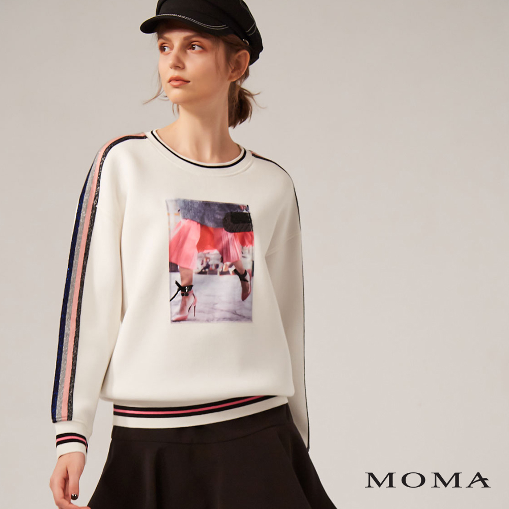 MOMA(02M042)派對女孩衛衣