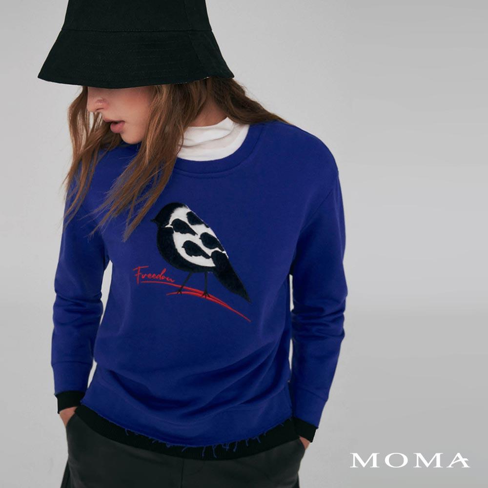 MOMA(02M033)立體動物衛衣