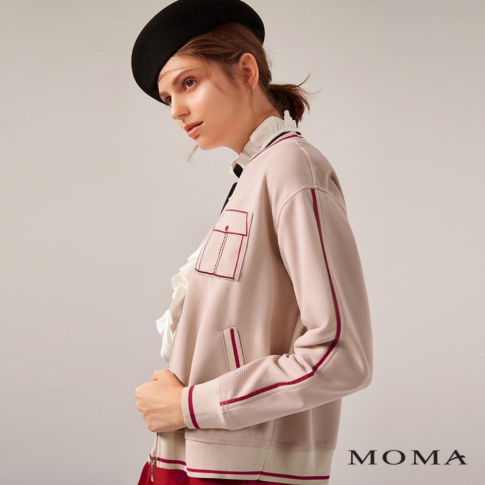 MOMA(02J049)趣味立體口袋外套