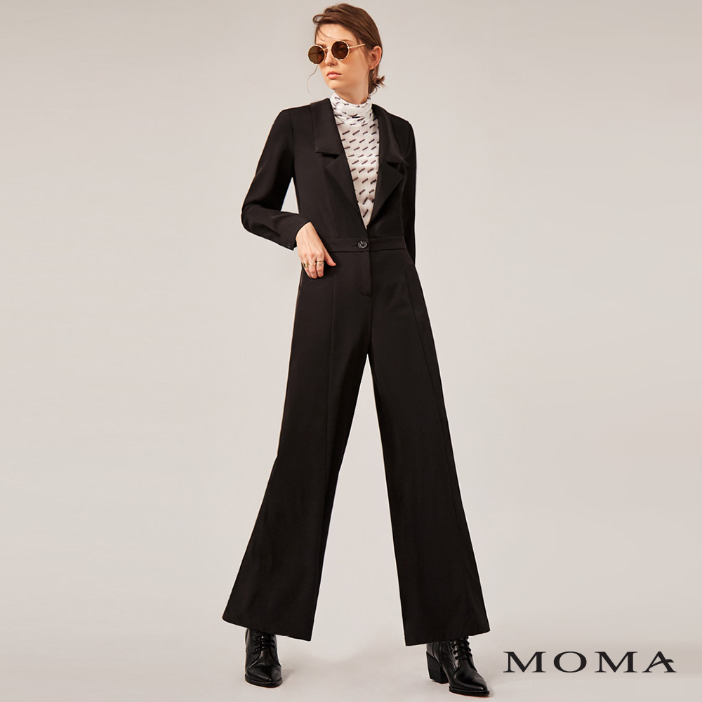 MOMA(02P002)西裝式連體褲