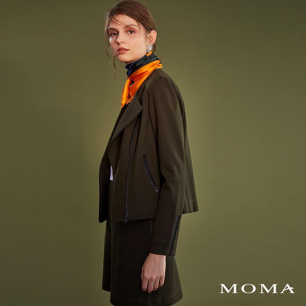 MOMA(02S024)針織迷你短裙