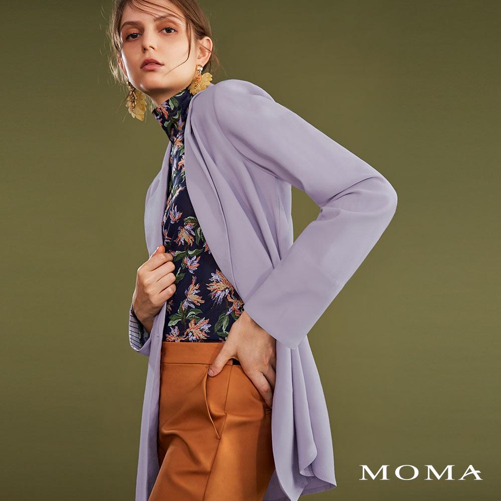 MOMA(02J045)簡約知性西裝外套