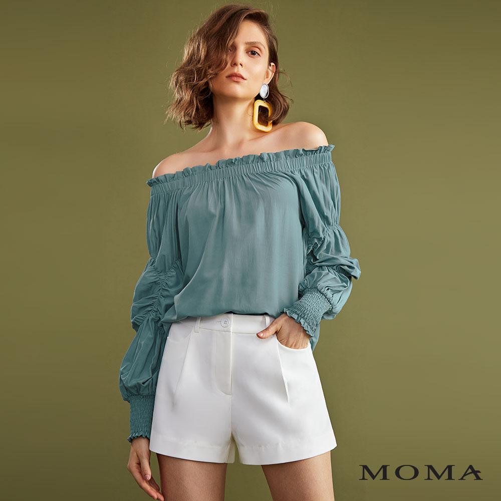 MOMA(02P015)經典西裝短褲-剩餘38號