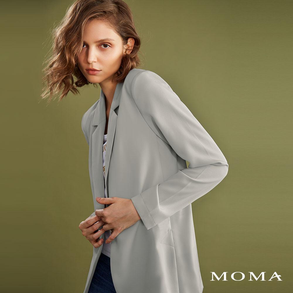 MOMA(02J042)隨性西裝外套
