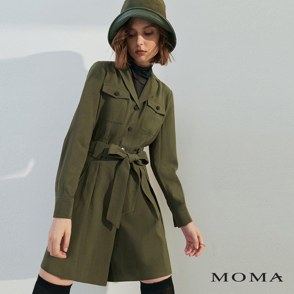 MOMA(02P091)率性工裝連身褲