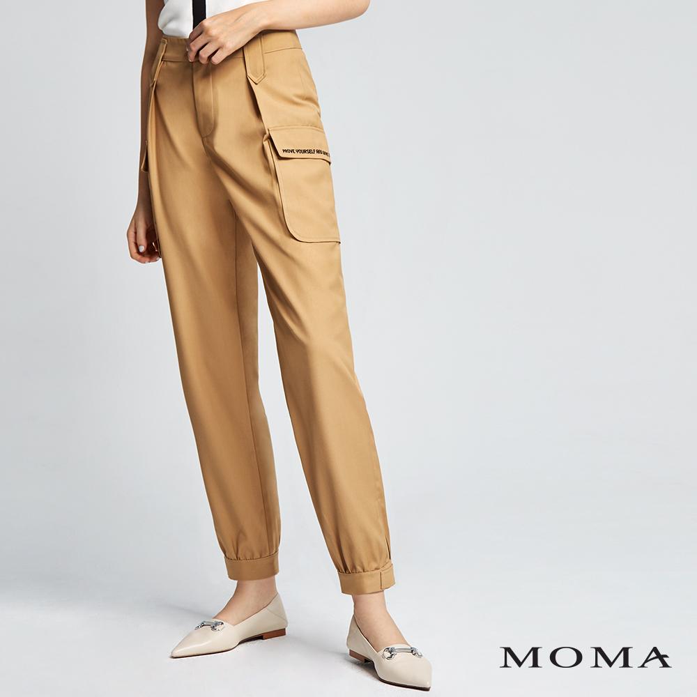 MOMA(02P039)大口袋工作褲