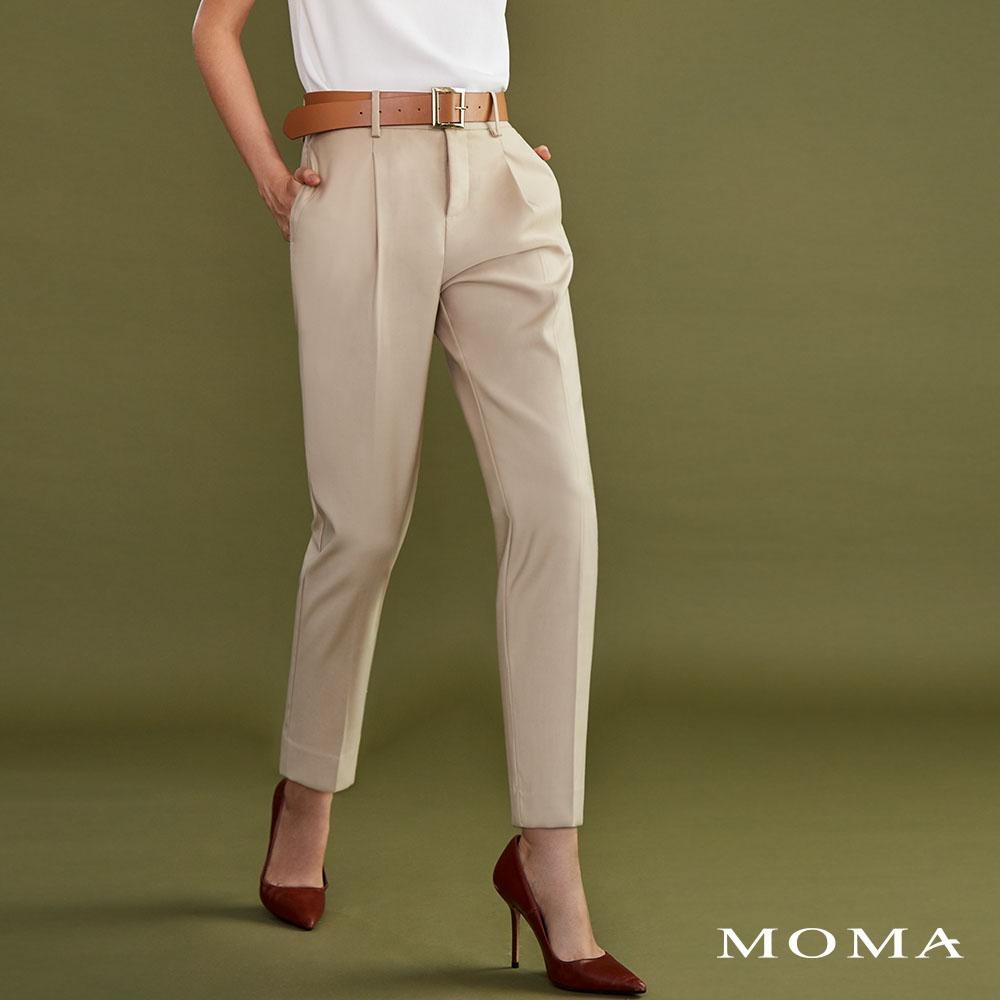 MOMA(02P027)都會感九分直筒褲