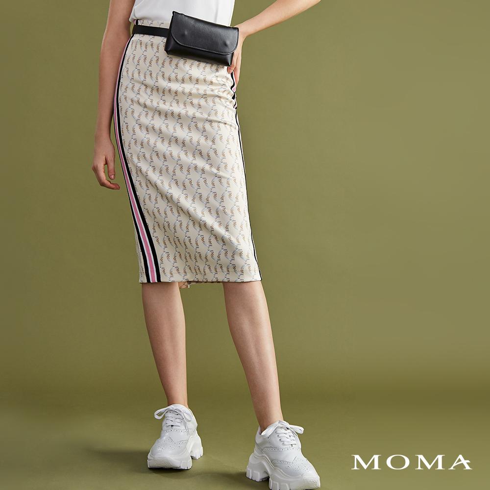 MOMA(02S021)復古印花運動裙
